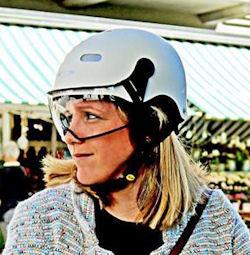 cp e bike helm - beste fietshelm met vizier voor brildragers