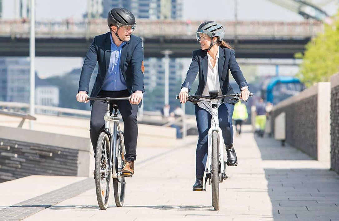 cratoni commuter speed pedelec helm met vizier antraciet en zwart kopen online