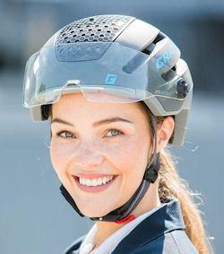 fietshelm met vizier kopen online - zoals deze cratoni commuter