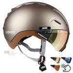 casco roadster olive e bike helm met vizier carbonic multilayer 04.5025.U - 04.5027.U - 04.5028.U