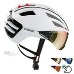 casco speedairo 2 wit  fietshelm met vizier carbonic multilayer 04.5025.U - 04.5027.U - 04.5028.U