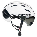 Casco helm Speedster wit - beste fietshelm met vizier kopen fietshelm racefiets