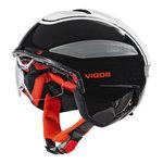 Fietshelm Speed Pedelec Cratoni Vigor zwart wit rood fietshelm met vizier kopen online