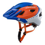 mtb helm Cratoni allride zwart wit - mountainbike helm kopen - goed in mtb helm test