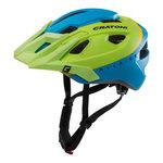 mtb helm Cratoni allride groen blauw - mountainbike helm kopen - goed in de mtb helm test