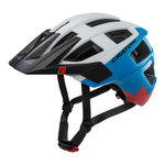 mtb helm Cratoni allset wit blauw - beste fietshelm in mtb helm test