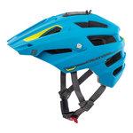 mtb helm Cratoni alltrack blauw groen - beste fietshelm in mtb helm test