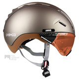 casco roadster olive e bike helm met vizier 04.5025.U