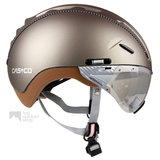 casco roadster olive e bike helm met vizier 04.5016.U