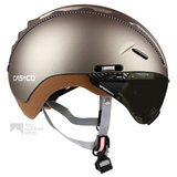 casco roadster olive e bike helm met vizier 04.5015.U