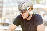 e bike helm casco roadster olive