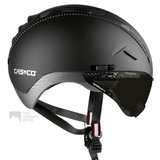 casco roadster zwart e bike helm met vizier 04.5015.U