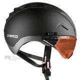 casco roadster zwart e bike helm met vizier 04.5025.U