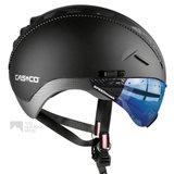casco roadster zwart e bike helm met vizier 04.5028.U