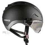 casco roadster zwart e bike helm met vizier 04.5014.U