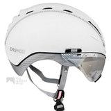 casco roadster wit e bike helm met vizier 04.5016.U