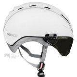 casco roadster wit e bike helm met vizier 04.5015.U