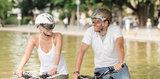casco roadster e bike helm wit