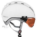 casco roadster wit e bike helm met vizier 04.5025.U