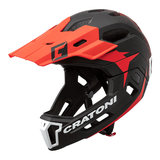 cratoni c-maniac 2.0 MX - black-red - mtb helm full face 110305