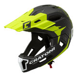 cratoni c-maniac 2.0 MX - black lime - mtb helm full face 110308