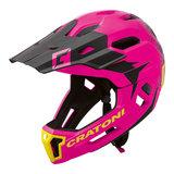 cratoni c-maniac 2.0 MX - pink-black - mtb helm full face 110309