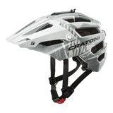 Cratoni alltrack mtb helm grey matt - grijs - mountain bike helm met go pro port