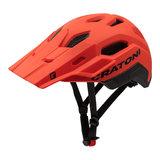 cratoni c maniac 2.0 trail black-red mtb helm - nieuwe mountainbike helm