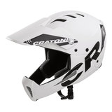 cratoni shakedown white matt mtb helm full face - mountainbike helm