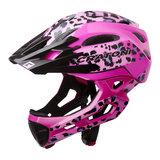cratoni c-maniac pro leo pink glossy - mtb helm full face - mountainbike helm