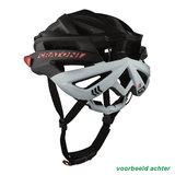 Cratoni agravic mtb helm - black matt - prima mountainbike helm ACHTER