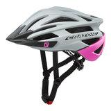 Cratoni agravic mtb helm - grey-pink matt - prima mountainbike helm
