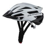 Cratoni agravic mtb helm - white black glossy - prima mountainbike helm