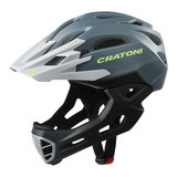 cratoni c-maniac - mtb helm full face anthracite black matt - mountainbike helm - world wide bestseller