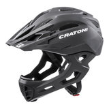 cratoni c-maniac - mtb helm full face black matt - mountainbike helm - world wide bestseller