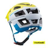 mtb helm Cratoni allset geel wit - beste fietshelm in mtb helm test achter vb