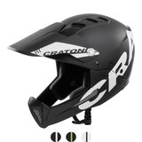 cratoni shakedown black matt mtb helm full face - nieuwe mountainbike helm