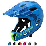 cratoni c-maniac 2.0 MX - blue lime - mtb helm full face 110306 hoofd