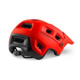 MET Terranova mtb helm rood achter