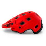 MET Terranova mtb helm rood zijkant