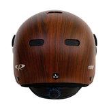 cp270310-carachillo e bike helm cubic wood - beste fietshelm back