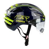 casco speedairo 2 rs blauw neongeel race fiets helm - beste racefietshelm - zij 2