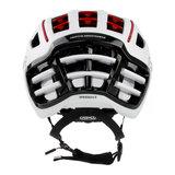 casco speedairo 2 rs wit race fiets helm - beste racefietshelm - achter