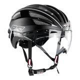 casco speedairo 2 rs zwart race fiets helm - beste racefietshelm - zij