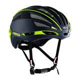 casco speedairo 2  blauw neongeel race fiets helm - beste racefietshelm - zij