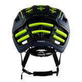 casco speedairo 2 blauw neongeel race fiets helm - beste racefietshelm- achter