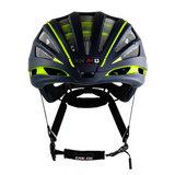 casco speedairo 2 blauw neongeel race fiets helm - beste racefietshelm - voor