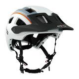 casco mtbe2 wit grijs - mtb helm - mountain bike helm zij