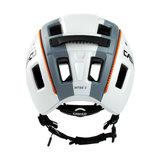 casco mtbe2 wit grijs - mtb helm - mountain bike helm achter