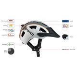 casco mtbe2 eigenschappen - mtb helm - mountain bike helm